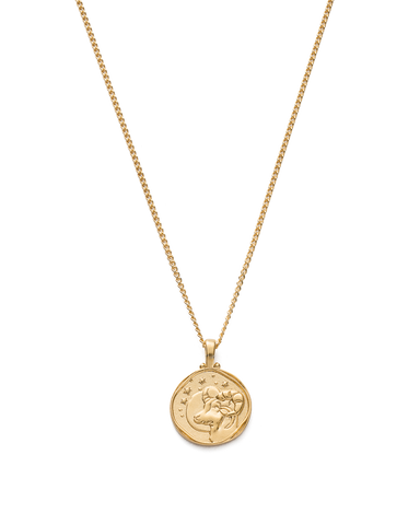 Aries Zodiac Necklace 18K GOLD VERMEIL