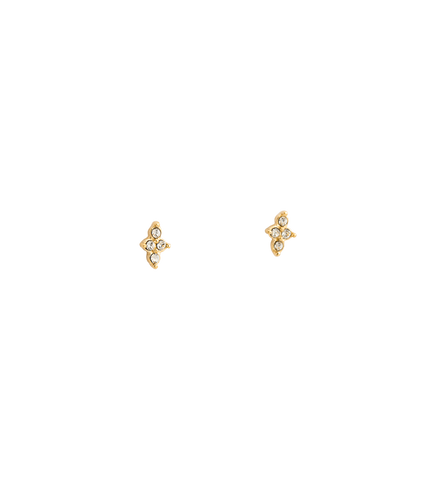 Crystal Four Dot Suds 18K GOLD PLATED (Set)