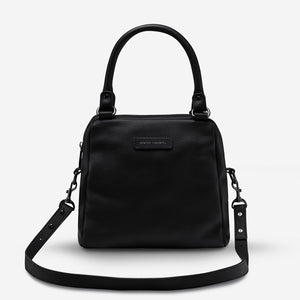 Last Mountains Bag BLACK LEATHER