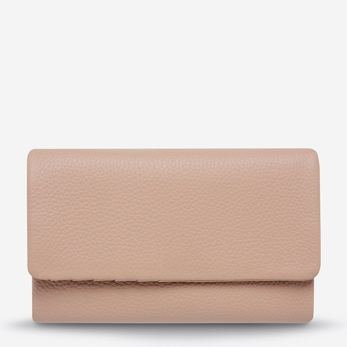 Audrey Wallet PEBBBLE DUSTY PINK