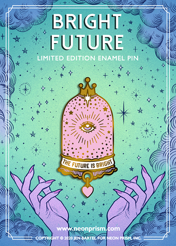 Bright Future Pin