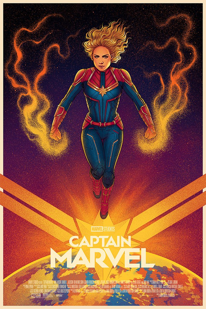 Captain Marvel Poster (Regular)