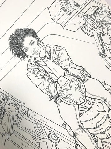 Ironheart #1 Variant Cover Original Artwork