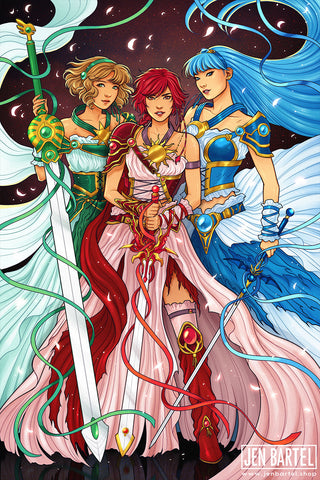 Magic Knight Rayearth Print