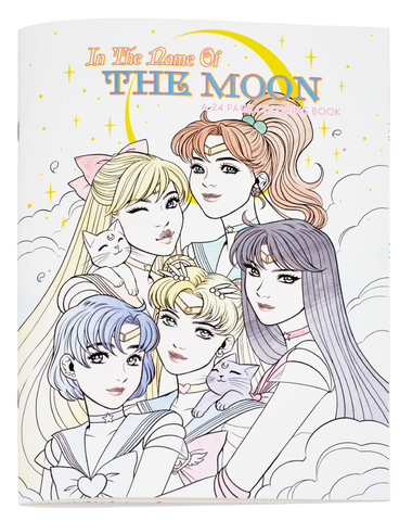 In The Name Of The Moon Coloring Book