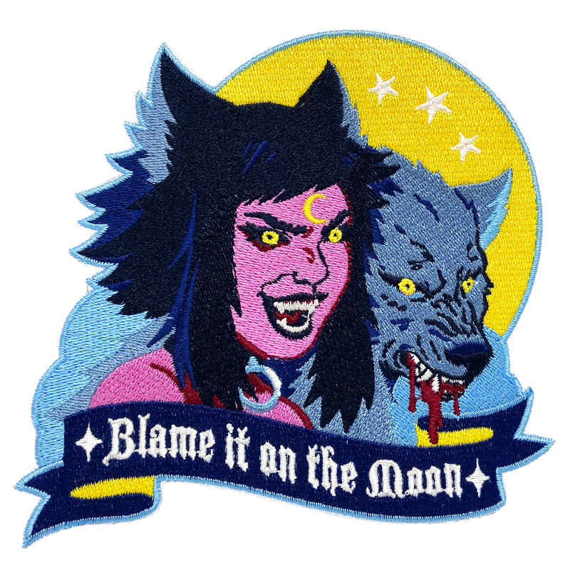 Blame It On The Moon Patch