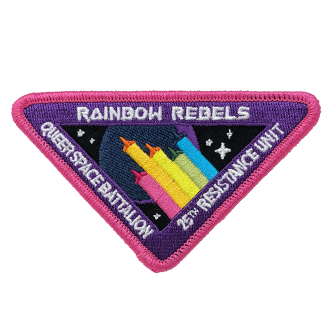 Rainbow Rebels Patch