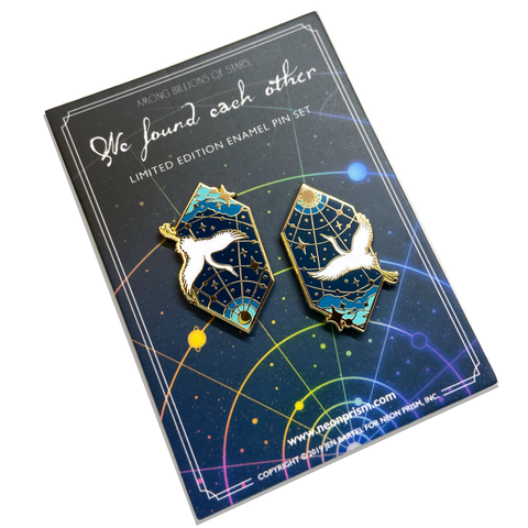 Found Each Other Pin Set