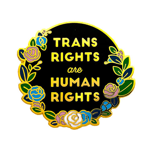 Trans Rights Pin