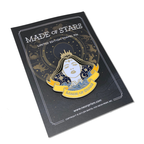 Made of Stars Pin