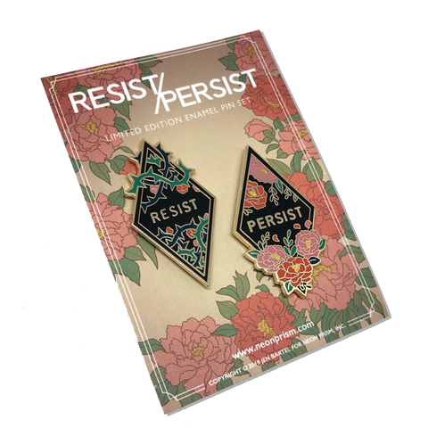 Resist / Persist Pin Set