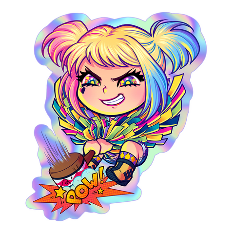 Harley POW! Sticker