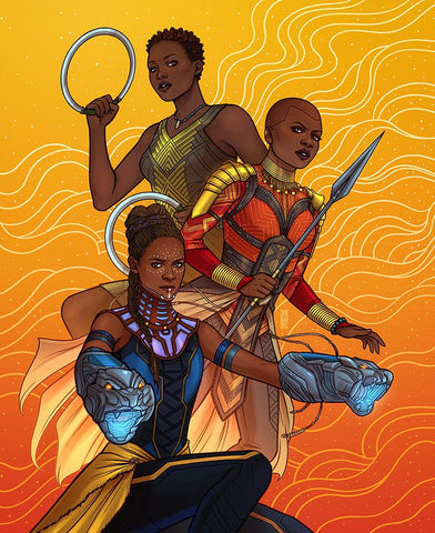 Women of Wakanda Print