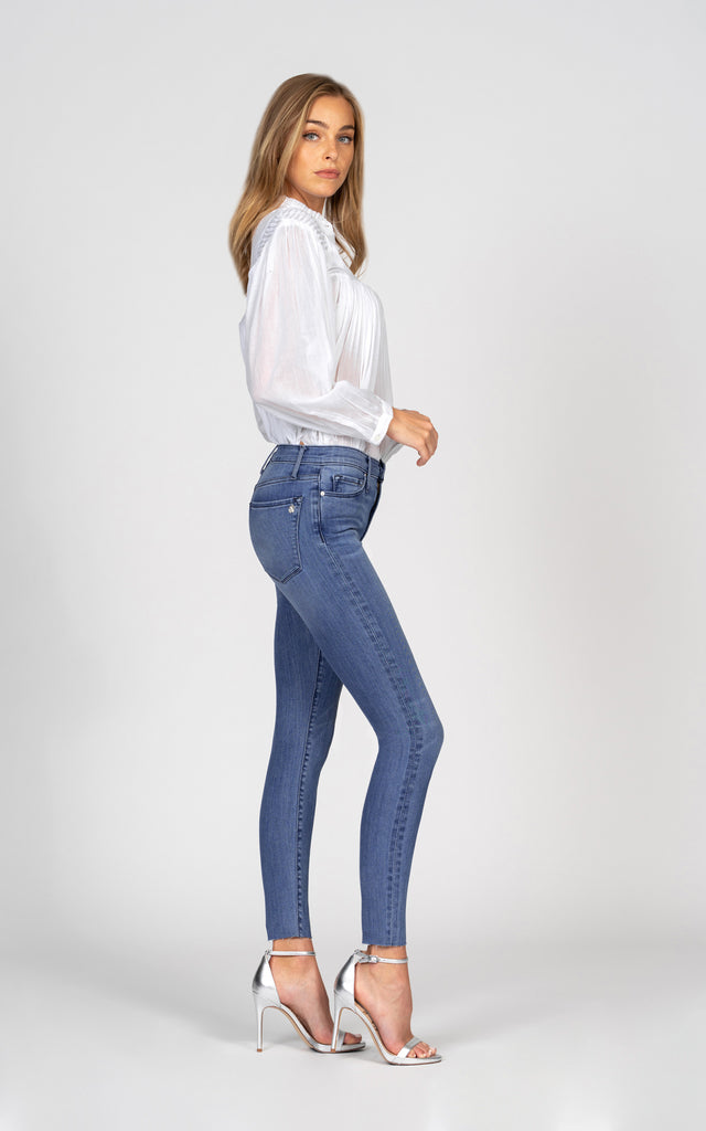 Carmen High Rise Ankle Fray - Not Enough-Jean-Black Orchid Denim