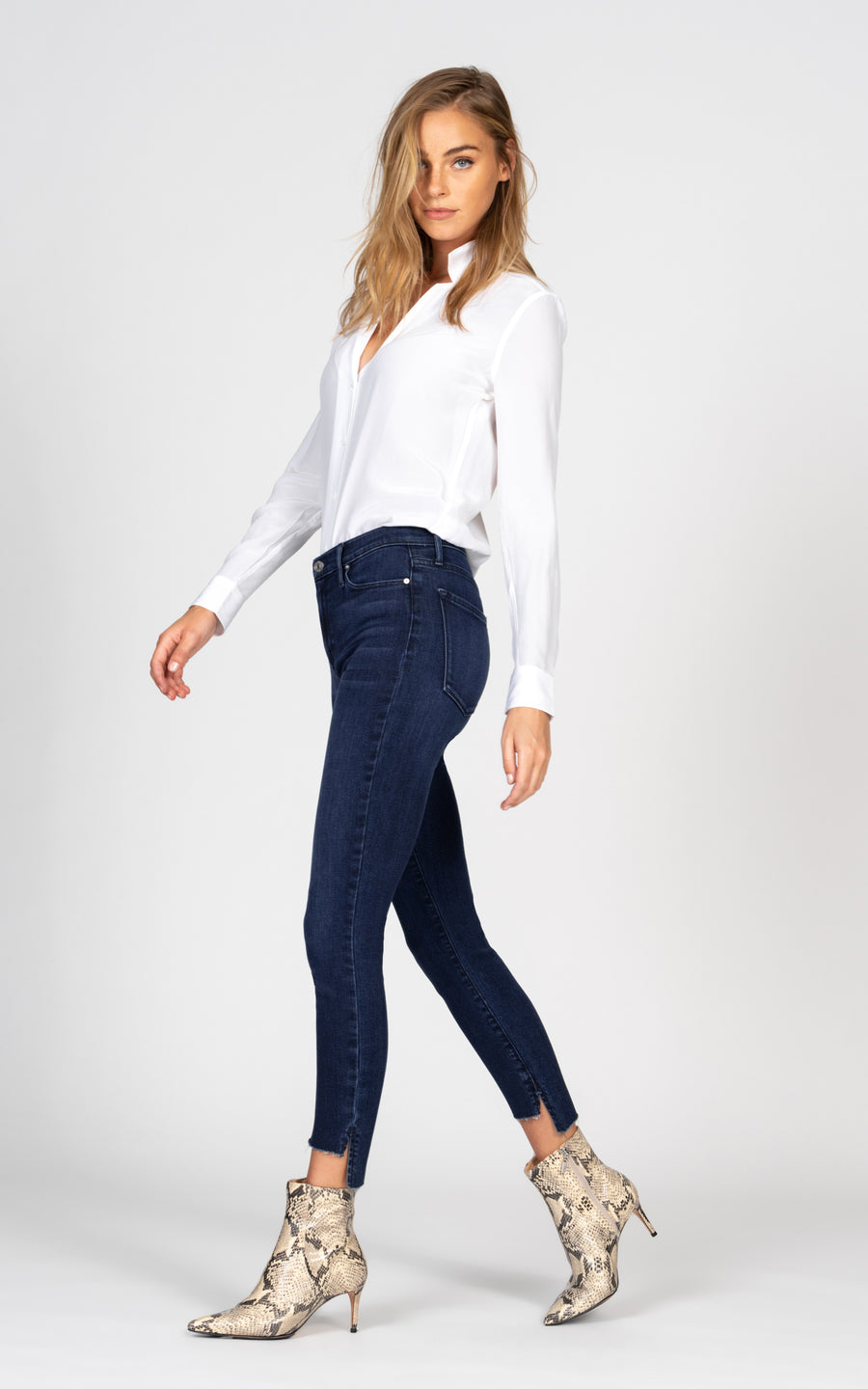 Miranda Off Step High Rise Skinny - Impulse