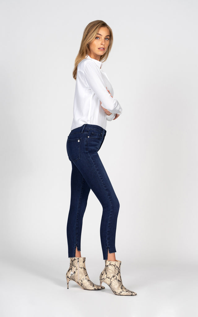 Miranda Off Step High Rise Skinny - Impulse-Jean-Black Orchid Denim