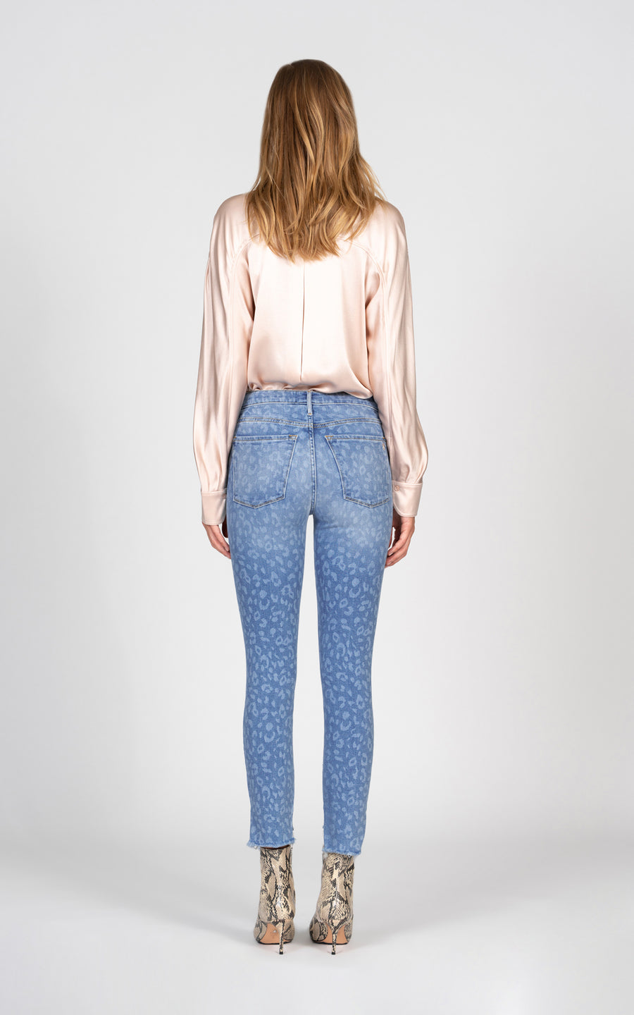 Miranda Off Step High Rise Skinny with Laser Leopard - After Hours-Jean-Black Orchid Denim