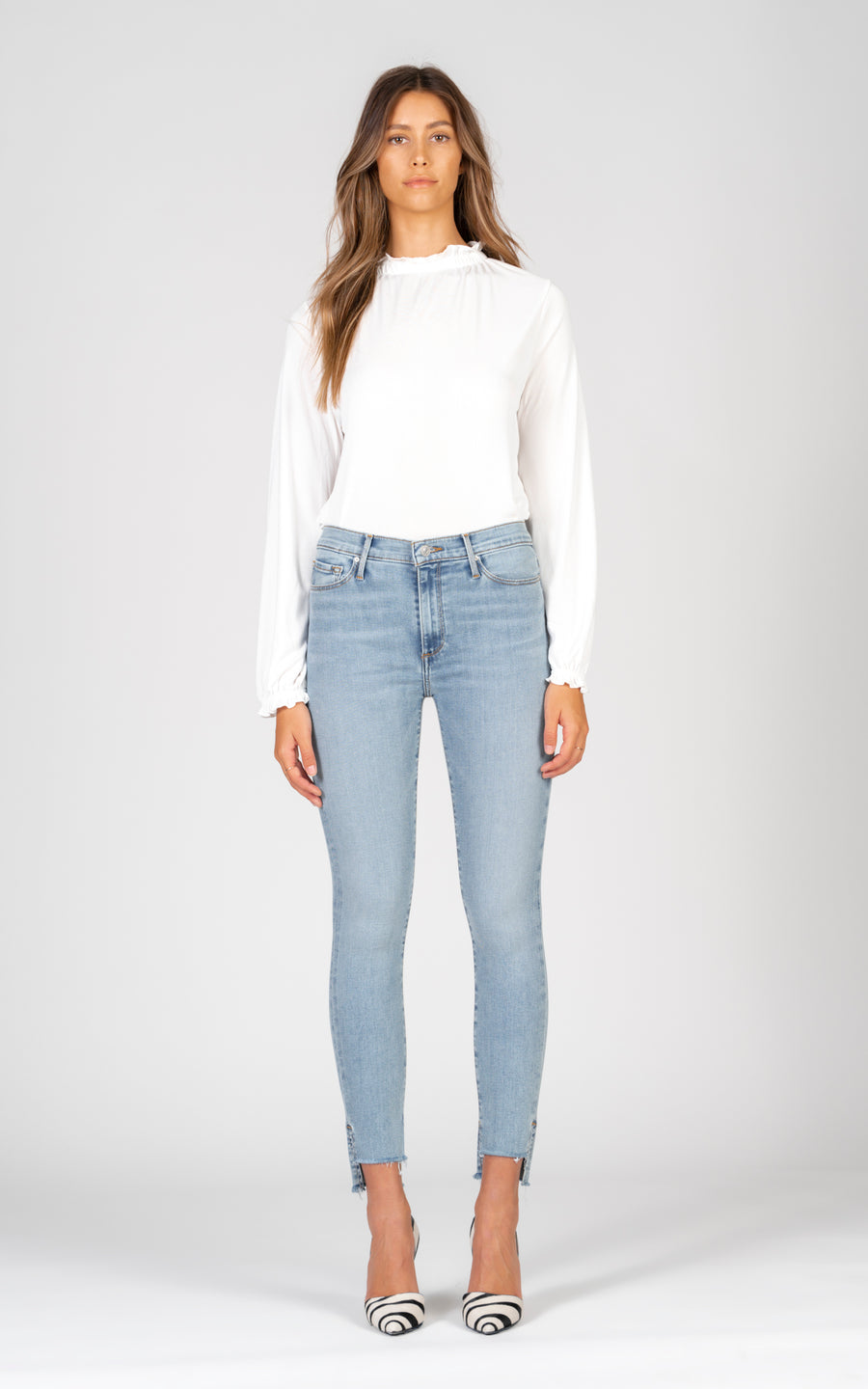 Miranda Off Step High Rise Skinny - This Is How We Do It-Jean-Black Orchid Denim