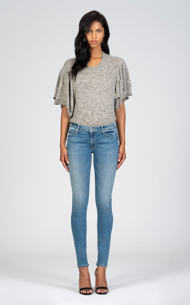 Jude Mid Rise Skinny - Saturday Sun-Jean-Black Orchid Denim