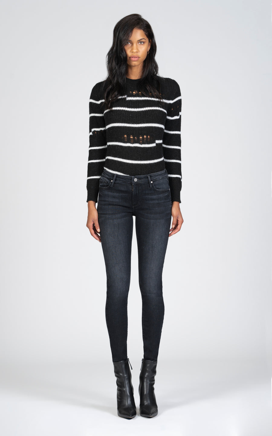 Jude Mid Rise Skinny - Kill The Lights-Jean-Black Orchid Denim