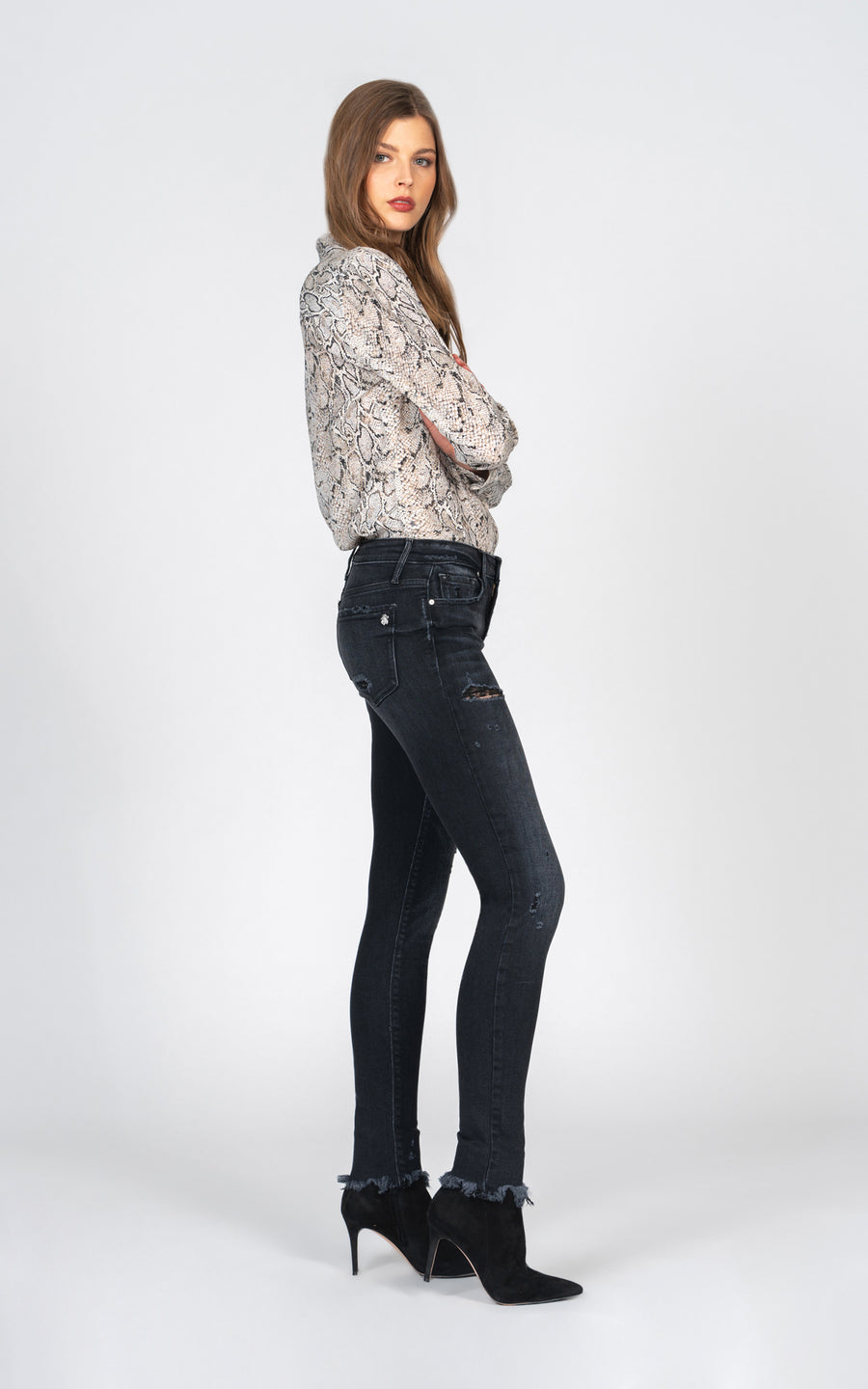 Jude Mid Rise Skinny - Don't Care