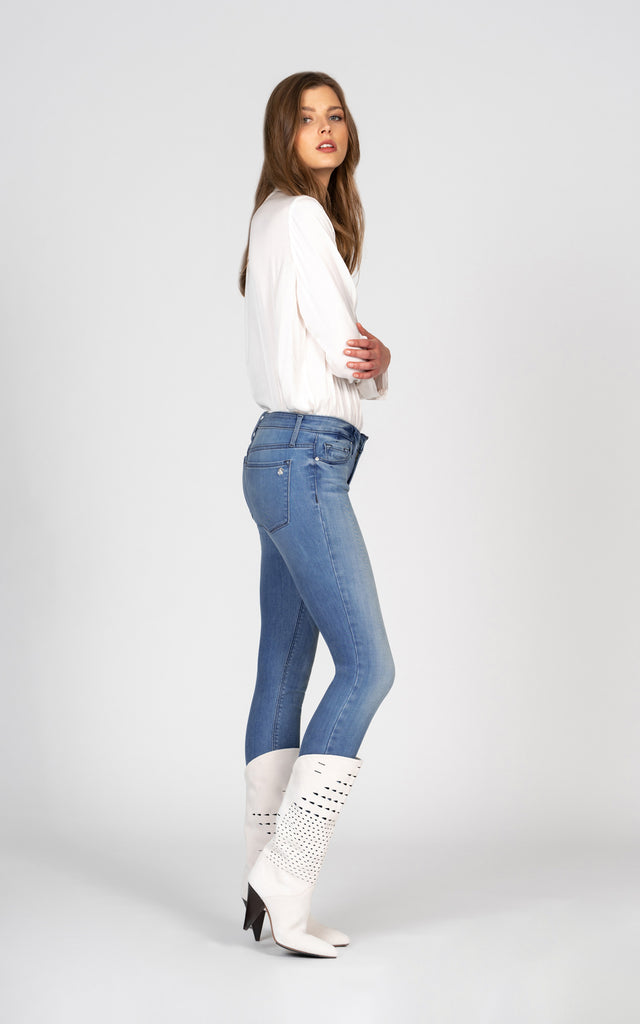 Jude Mid Rise Skinny - Turn Me On-Jean-Black Orchid Denim