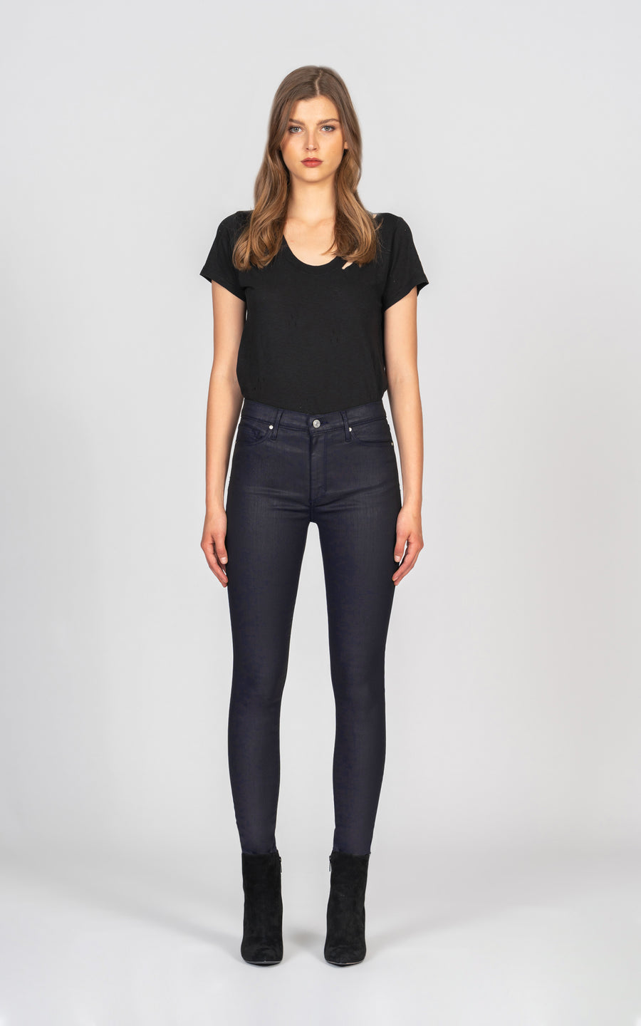 Gisele High Rise Skinny - Blue Star-Jean-Black Orchid Denim