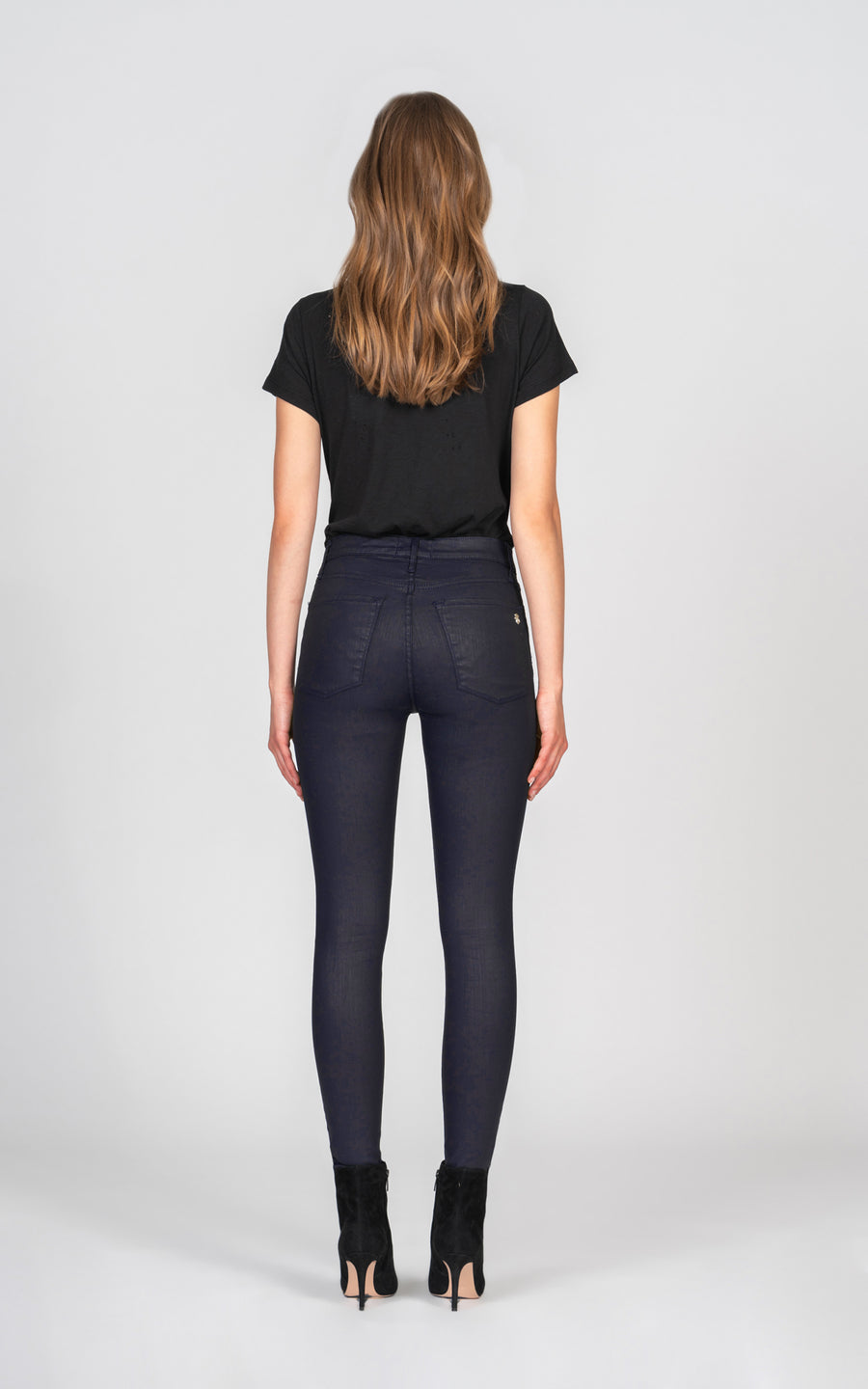Gisele High Rise Skinny - Blue Star