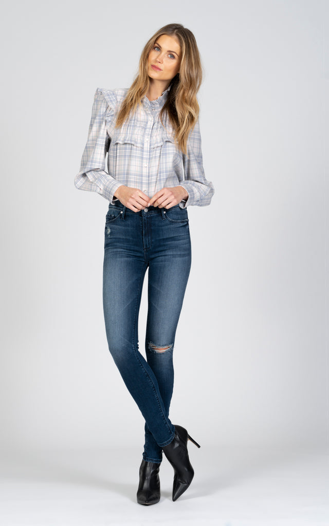 Gisele High Rise Skinny - Bad Romance-Jean-Black Orchid Denim