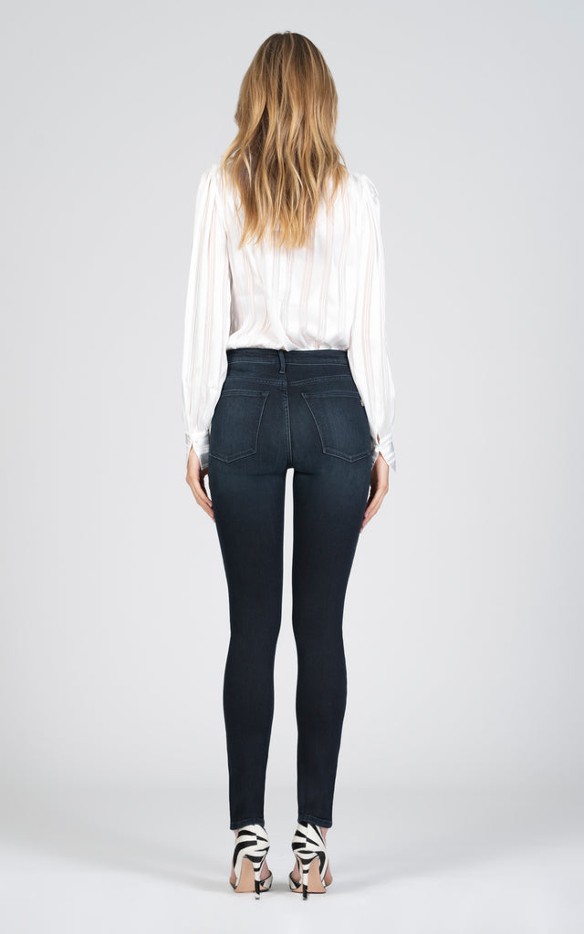 Gisele High Rise Skinny - Out Of Darkness-Jean-Black Orchid Denim