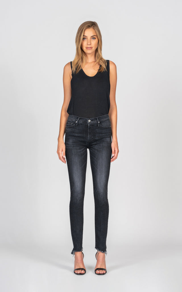 Gisele High Rise Skinny - Crossroads-Jean-Black Orchid Denim