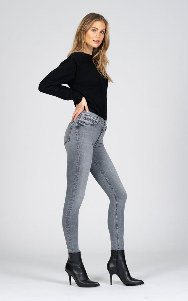 Gisele High Rise Skinny - No Sleep-Jean-Black Orchid Denim