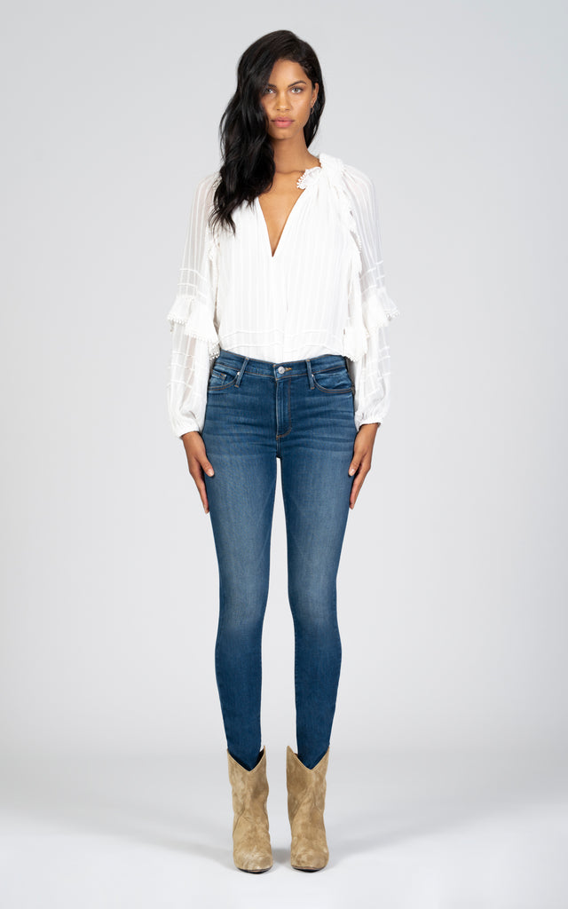 Gisele High Rise Skinny - Not Your Baby-Jean-Black Orchid Denim