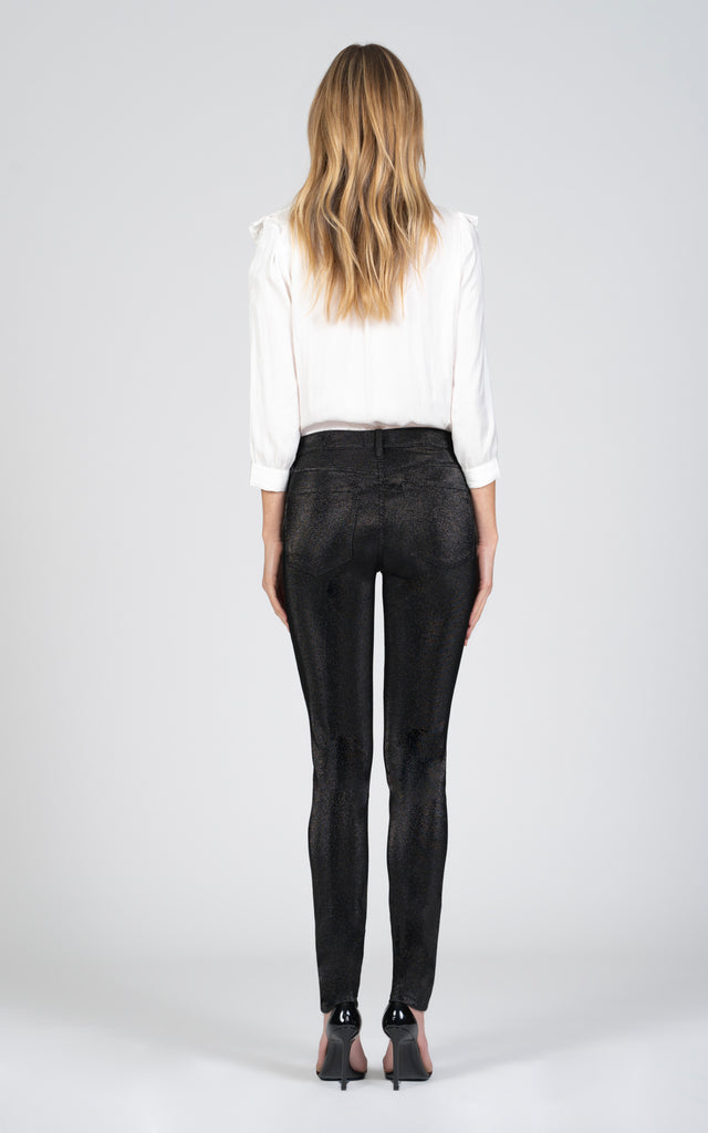Gisele High Rise Skinny - It's My Party-Jean-Black Orchid Denim