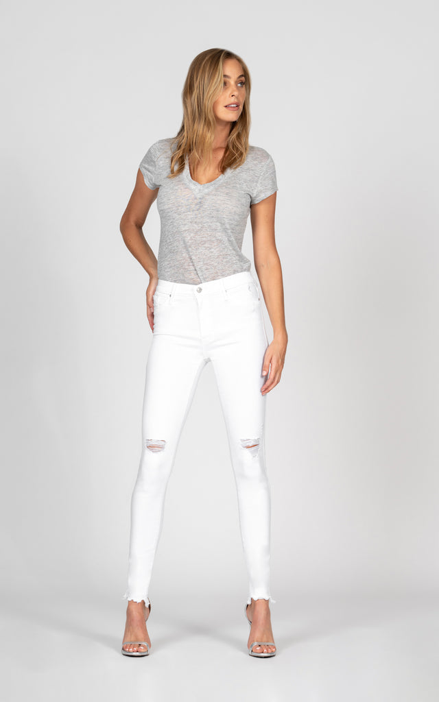 Gisele High Rise Skinny - Keep the Faith-Jean-Black Orchid Denim