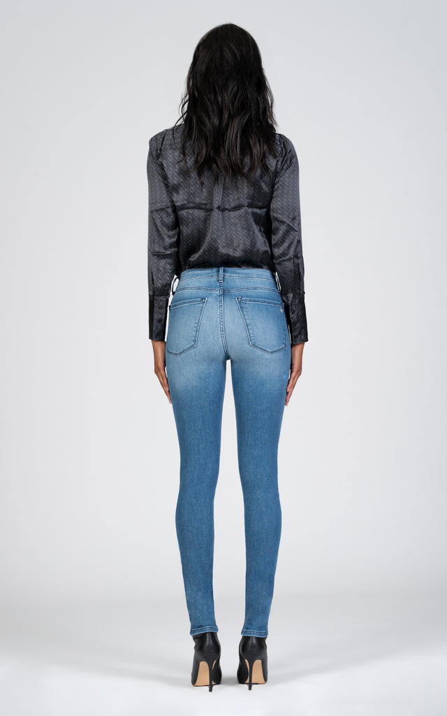 Gisele High Rise Skinny - Keeper-Jean-Black Orchid Denim