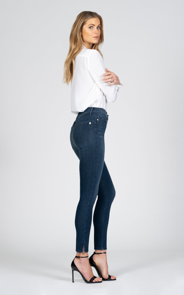 Kate Super High Rise - Wasted Times-Jean-Black Orchid Denim