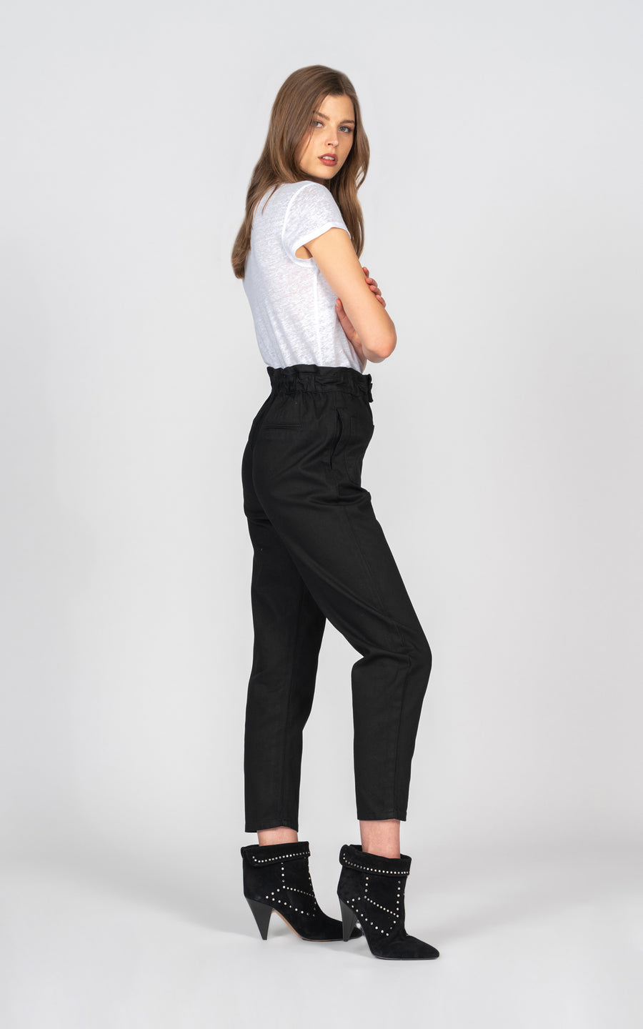 Baggy Cargo Pant - Black