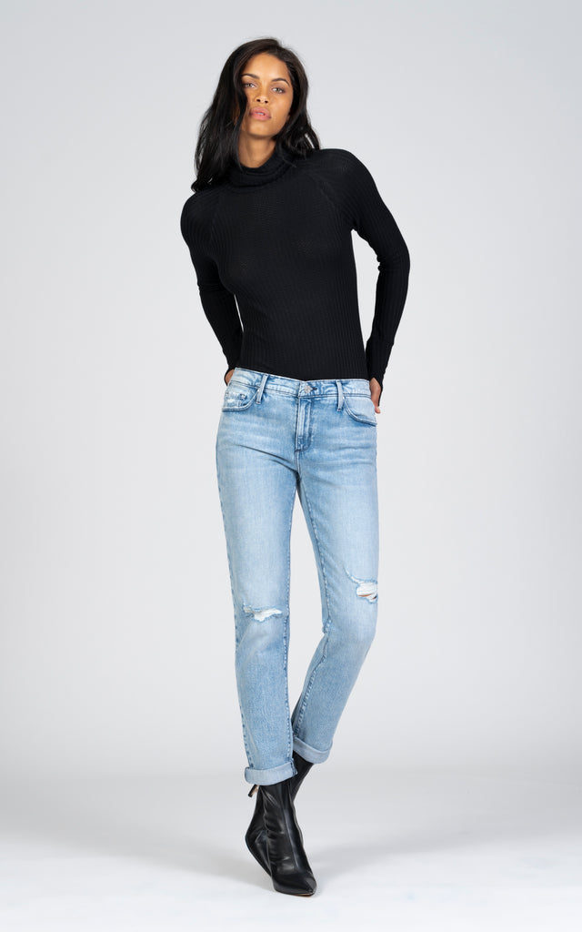 Harper Skinny Boyfriend - All My Friends-Jean-Black Orchid Denim