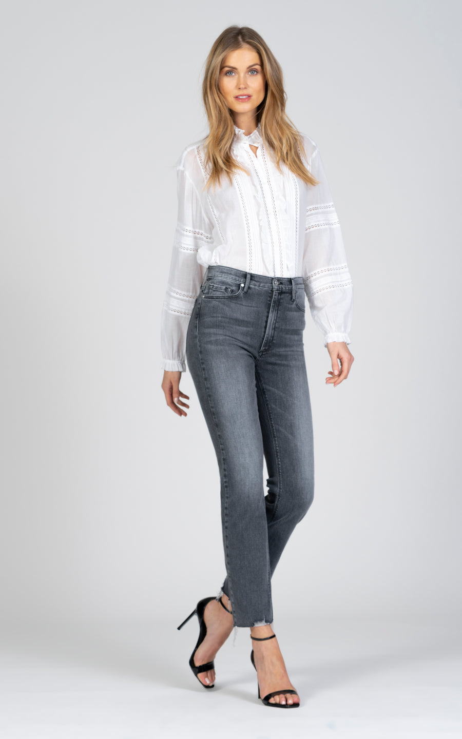 Brooke Straight Crop - Showtime-Jean-Black Orchid Denim