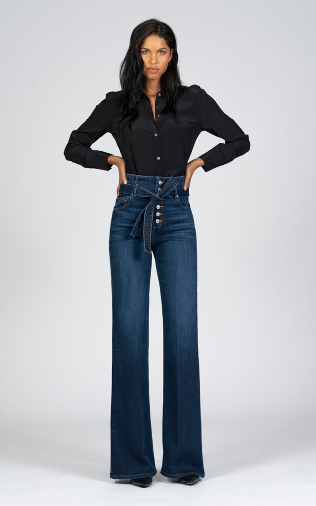 Celia Corset Wide Leg - Impulse-Jean-Black Orchid Denim