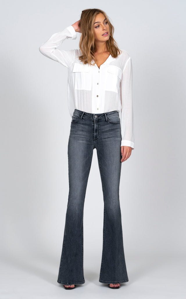 Grace Super Flare - Stole the Show-Jean-Black Orchid Denim