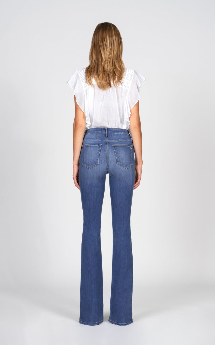 Mia Mid Rise Skinny Flare - Good Years