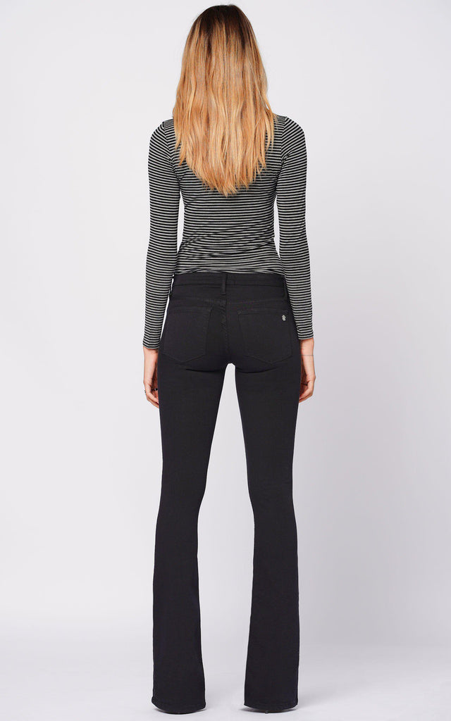 Mia Skinny Flare - So Black-Jean-Black Orchid Denim