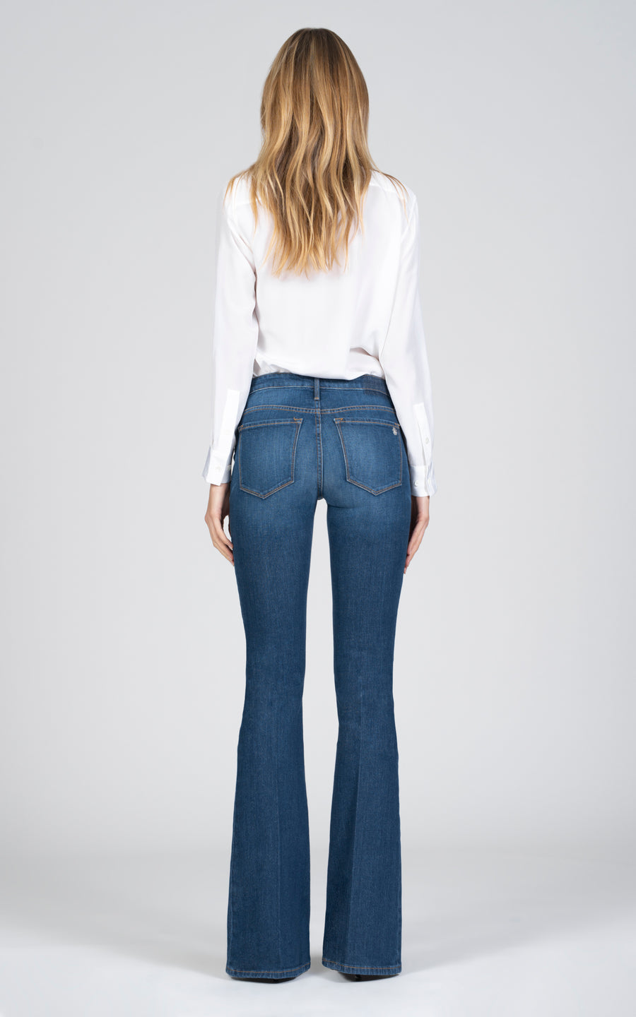 Mia Skinny Flare - Cool Vibes-Jean-Black Orchid Denim