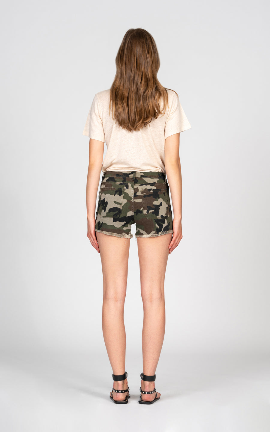 Liv Patch Pocket Short - Camo