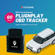 F100-GO Plug & Play OBD GPS Tracker with KATSANA Fleet™
