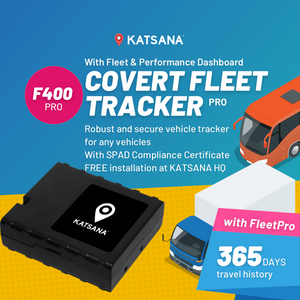 F400-PRO Covert GPS Tracker with KATSANA FleetPro™