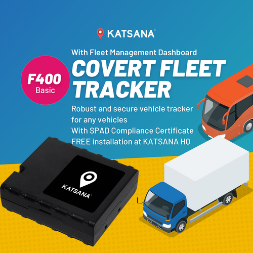 F400 Covert GPS Tracker with KATSANA Fleet™