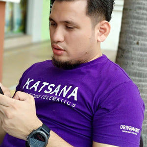 KATSANA Official Tee in Purple